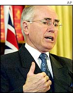 Prime Minister John Howard of Australia