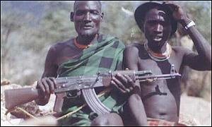 The Karamojong of north-eastern Uganda