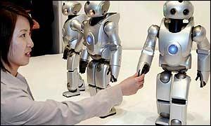Robot chino que baila,canta y habla!