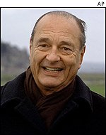 Jacques Chirac to honour Dumas