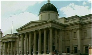 The National Gallery is one of the UK's best known art institutions