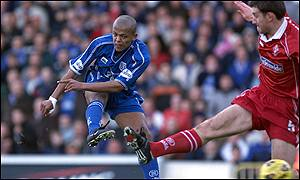 Cardiff City striker Robert Earnshaw