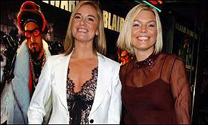 EastEnders star Tamzin Outhwaite and TV host Kate Thornton
