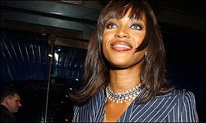 Supermodel Naomi Campbell was also at the Empire Cinema