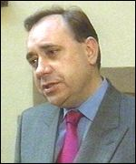 Banff and Buchan MP Alex Salmond