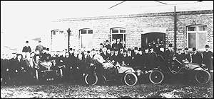 First Vauxhall car produced at Luton