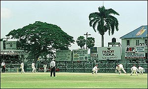 Bourda is the only non-island Test venue in the West Indies