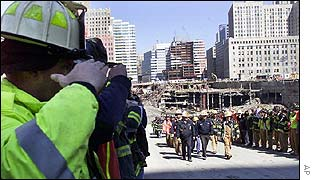 Body removed from Ground Zero
