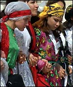 Kurdish women in Turkey