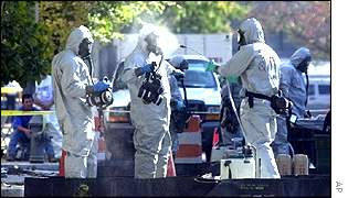 Chemical weapon workers, AP
