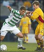 Stilian Petrov holds off Ayr's Marvyn Wilson