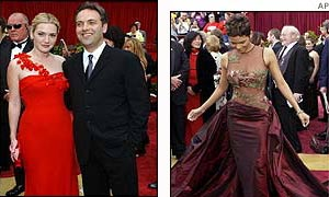Kate Winslet and Sam Mendes and Halle Berry
