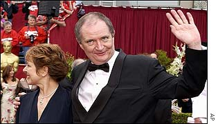 Jim Broadbent and Anastasia Lewis