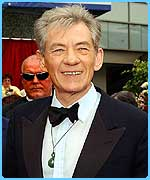 Rings actor Sir Ian McKellen