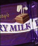 Cadbury's chocolate bar, BBC