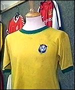 Pele's shirt for sale