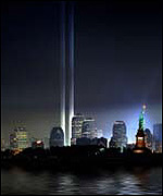 Tribute in light memorial
