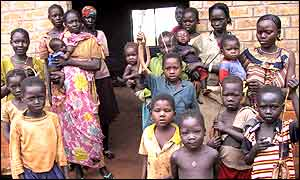 Sudanese refugees in the Central African Republic