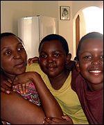 Joel Phiri's family