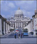 The Vatican admitted moral involvement in scandal
