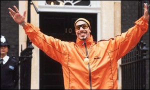 Ali G at Downing Street