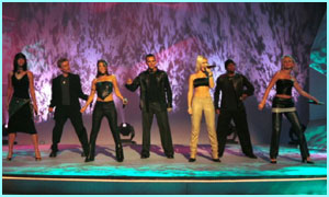 S Club have supported Children in Need for the last few years, starting with this performance in 1999