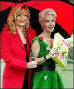 Gaby Roslin and Paula Yates were original presenters
