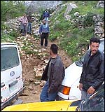 Nablus taxi drivers