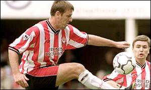 Le Tissier has been plagued by a succession of injuries