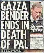 [ image: It has been an annus horribilis for Gazza]