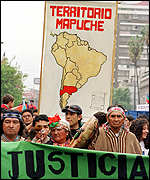 [ image: Anti-Columbus demos in Chile]