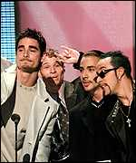 [ image: Backstreet Boys: Charity hit across Europe]