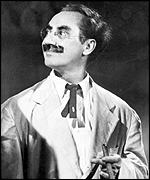 [ image: Groucho Marx: Renowned for his one-liners]