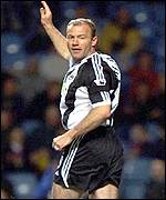 Alan Shearer scored in the third minute