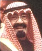 Principe regente de Arabia Saudita, Abdalá.
