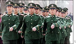PLA soldiers