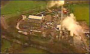 The Shanks Chemicals plant at Pontypool