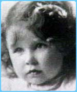 The Queen Mother as a child