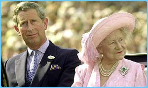 Prince Charles adored his grandmother