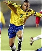 Brazil and Inter forward Ronaldo