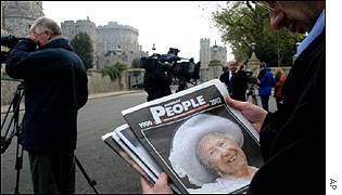 The Queen Mother's death has dominated the news