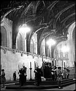George V lying in state