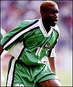 Okocha was the most expensive African footballer