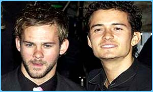 Dominic Monaghan and Orlando Bloom