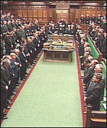 The recalled House of Commons