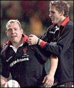 Neath hooker Barry Williams and Cardiff's Jamie Robinson