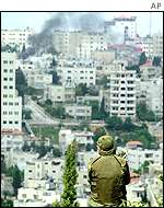 A soldier's view of Ramallah