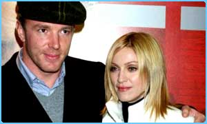 Madonna and her hubby Guy Ritchie