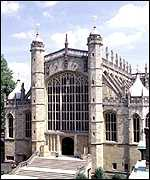 Exterior of St George's Chapel