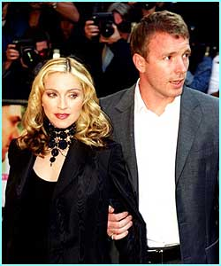 Madonna and her husband Guy Ritchie